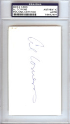 Al Cowens Autographed 3x5 Index Card Royals, Tigers PSA/DNA #83862804