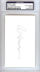 Al Cowens Autographed 3x5 Index Card Royals, Tigers PSA/DNA #83862805