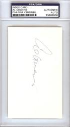 Al Cowens Autographed 3x5 Index Card Royals, Tigers PSA/DNA #83862806