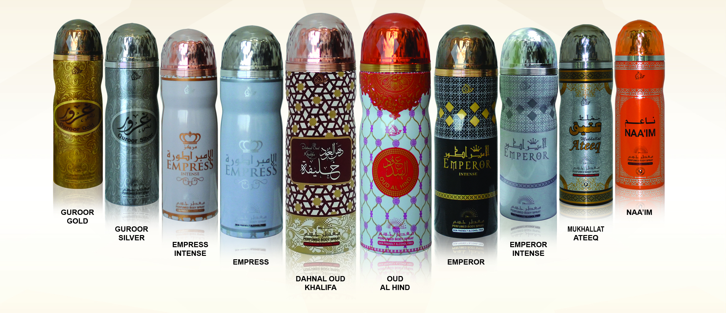 Deodorant Sprays