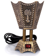 Bronze Arabic Electric Bakhoor Burner