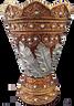 Leaf Mubkhara Bronze Stripe - Large