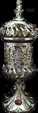 Carousel electric Mubkhara in Silver