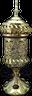 Carousel electric Mubkhara in Gold