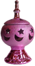 Pink Ceramic Incense Burner