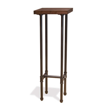 Pipeline Tower Retail Display Table | GREY