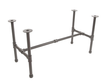 Small Pipeline Nesting Table  FRAME only  | GREY