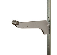 """12"""" Double Bracket w/ Nylon Stabilizer for 1.25"""" Round Tube 