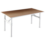 Large Pipeline Nesting Table  MATTE WHITE