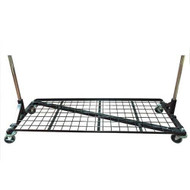 Heavy Duty Bottom Shelf For 5ft Z Rack  BLACK