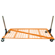 Heavy Duty Bottom Shelf For 5ft Z Rack  ORANGE