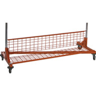 5ft Z Rack Bottom Shelf Orange