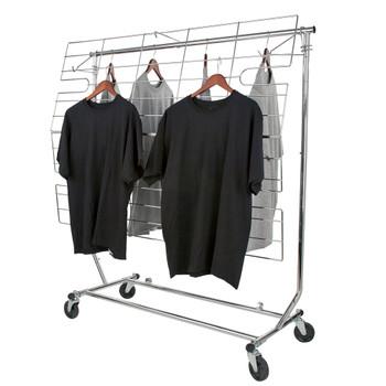 TWO In ONE Screen or Shelf for Single Rail Folding Rack