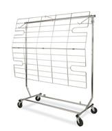 Screen-Shelf for Single Rail Folding Garemtn Rack