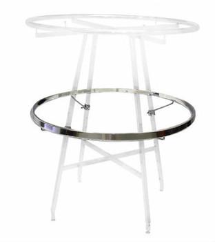 "Rectangular Add-On Hangrail for 36"" Round Clothing Rack"