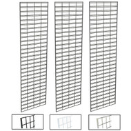 2' X 8' Slatgrid Panels | Black, White or Chrome | Case of 3