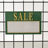 "Grid | Gridwall Acrylic Sign Holder 7""H X 11""W 
