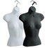 Female Upper Torso Hanging Form | Black or White | Case of 12