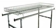 Wire Basket Topper for Double Rail Racks