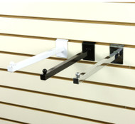 """Slatwall 12"""" Straight Faceout Arm 