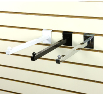 "Slatwall 12"" Straight Faceout Arm 