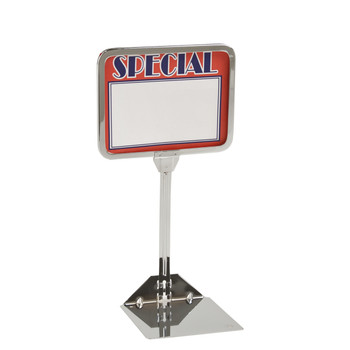 "5.5""H x 7""W Shovel Base Sign Holder 