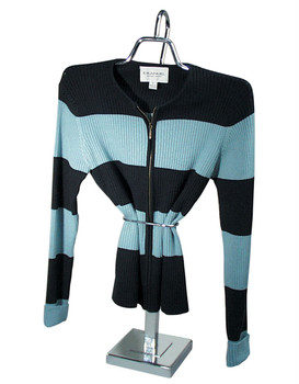 """Gooseneck Stand With Waist Cincher   Adjustable Height 18"""" to 36"""""""