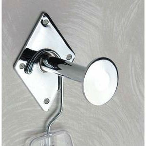 "3"" Dressing Room Hook Wall Mount Faceout 