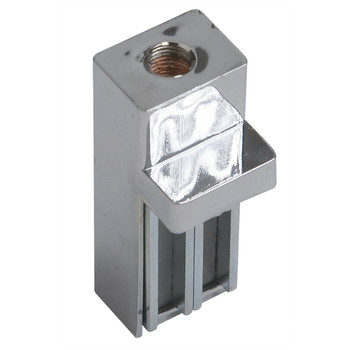 90 Degree Magnetic Clamp | 3/8 Threaded Receiver | Chrome