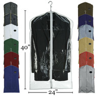 "40"" Vinyl Zippered Suit Cover 
