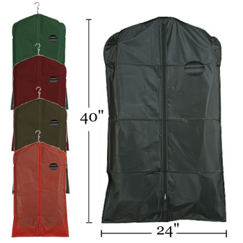 """40"""" PEVA Zippered Suit Cover   Case 100"""