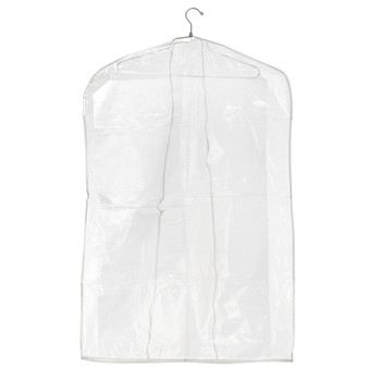 "36"" Clear Dress or Suit Overlap Cover 