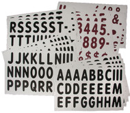 """421 - 5"""" Letters & Numbers Set for XL Massage Board Sign"""
