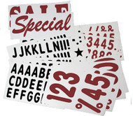 "315 - 5"" Letter & 10"" Number for XL Deluxe Message Board Sign"