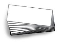 9.25H x 24H Blank Inserts for Message Board Sign | Box of 10