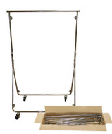 Rolling Folding Garment Rack | Product Display Solutions
