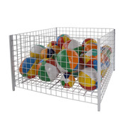 "48"" Square Grid Wire Dump Bin 