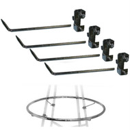 "36"" & 42"" Round Rack Add-A-Ring Hardware 