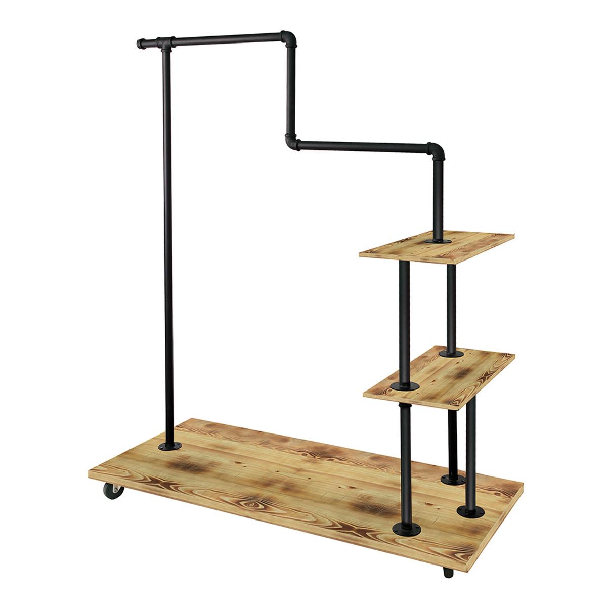 black ideas galvanized clothing furniture design interior rack amazing simple at in luxury best pipe home