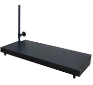 Large Base For Outrigger Wall Display  BLACK