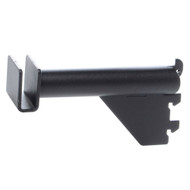 3 Pipe Hangrail Bracket  Matte Black