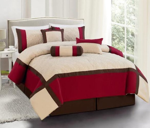 7 pc burnt orange