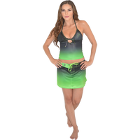 Ombre Tankini - Green PWC Jetski Ride & Race Swimwear