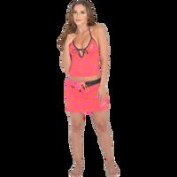 Brady Swim Skirt - Pink/Orange PWC Jetski Ride & Race Swimwear
