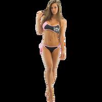 Sporty Spice Bikini Bottom - Pink PWC Jetski Ride & Race Swimwear