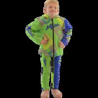 Kids (Big Kids) Tour Coat Young Heart- Green PWC Jetski Ride & Race