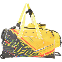 Day 10 Rolling Gear Bag Spike - Multicolor PWC Jetski Ride & Race Gear