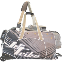 Day 10 Rolling Gear Bag Spike - Grey PWC Jetski Ride & Race Gear