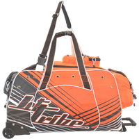 Day 10 Rolling Gear Bag Spike - Orange PWC Jetski Ride & Race Gear