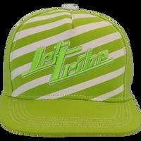 TNT Stripe Hat - Green PWC Jetski Ride & Race Accessories